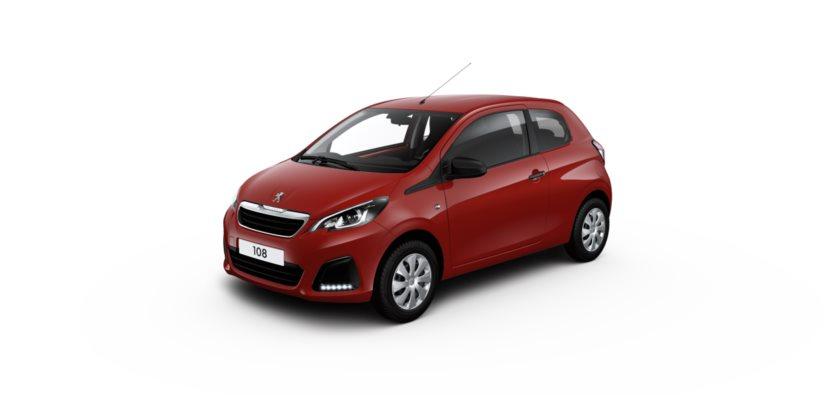 Configuration Automobile Configurer Une Voiture Peugeot Portes - Peugeot 108 3 portes